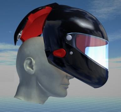 Нова идея за безопасност - каска Voztec  01