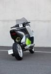 Концепцията за електрически скутер на BMW с камери за задно виждане 01