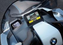 Концепцията за електрически скутер на BMW с камери за задно виждане 07