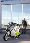 Концепцията за електрически скутер на BMW с камери за задно виждане 11
