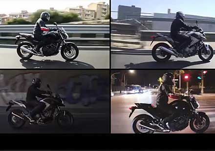 Honda NC700S и NC700X промо видео