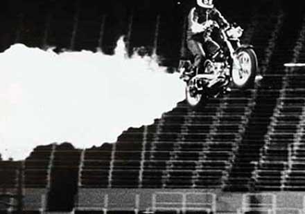 Историята на ракетните мотоциклети