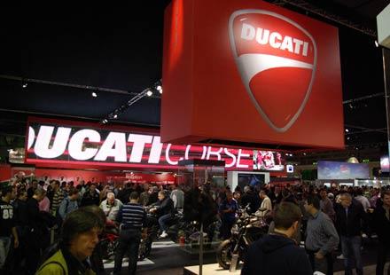 Ducati на EICMA 2011