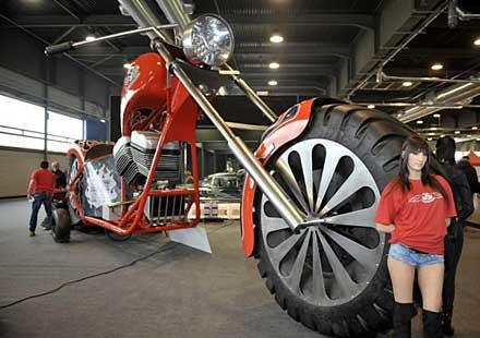 Най-голямият мотор в света!