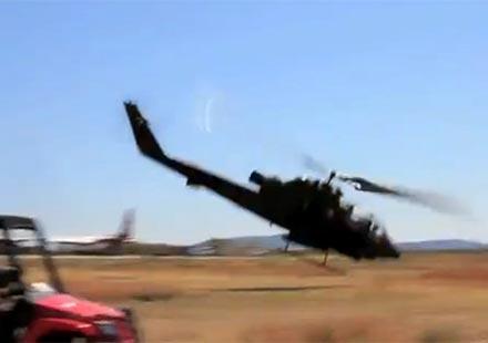 Вертолет падна, докато снима TopGear