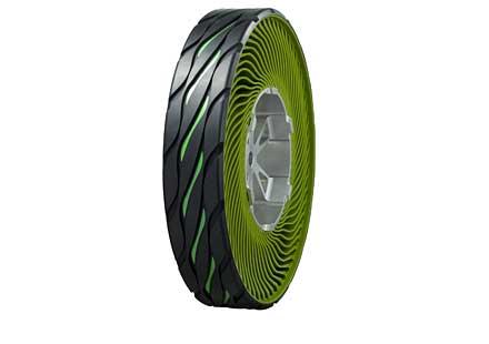 Мото гуми без въздух?