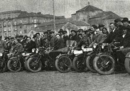 Откриване на мото сезона през 1933