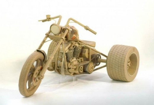 Мотоциклети от… картон 10