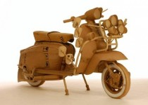 Мотоциклети от… картон 11