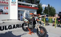 Георги Гочев с дебют в големия клас с мотор КТМ 450 03