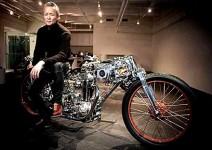 Чикара Нагата и неговите мотоциклети