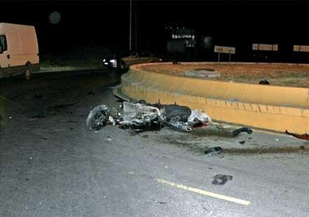 18-годишно момче загина при катастрофа с мотор