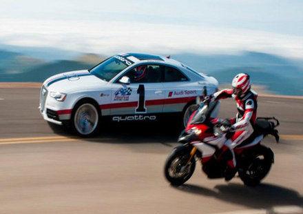 Audi и Ducati – заедно на Пайкс Пик
