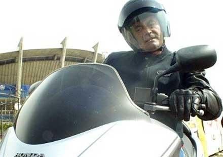 Кметът на Варна се преби с мотоциклет