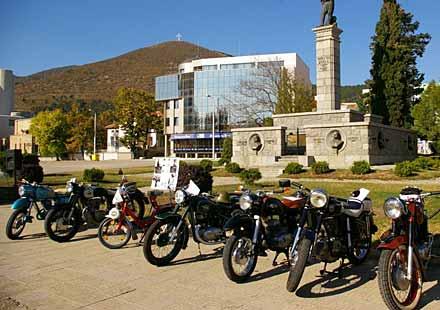 В Сливен се проведе парад на ретро автомобили и мотоциклети