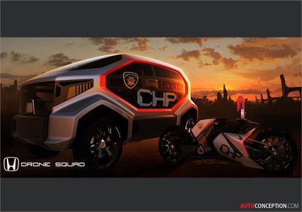 Два проекта на Honda за LA Design Challenge