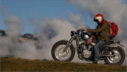Harley-Davidson Stellalpina по италианските върхове (ВИДЕО) 04
