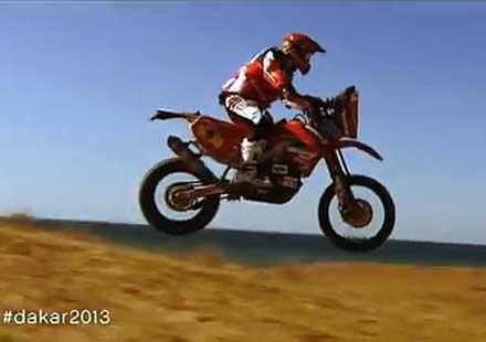 """Официално видео на """"Дакар 2013"""""""
