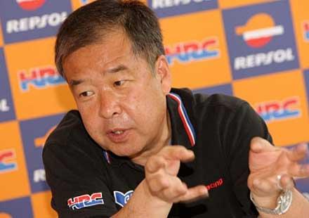 Интервю с вицепрезидента на Honda Racing Company (HRC)