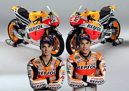 Представиха новия тим Repsol Honda