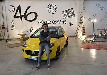 Валентино Роси е новият посланик на марката за Opel ADAM