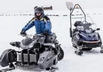 Triazuma Snow - версия снегоход на Wazuma ATV 01