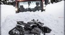 Triazuma Snow - версия снегоход на Wazuma ATV 03