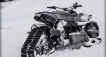 Triazuma Snow - версия снегоход на Wazuma ATV 05