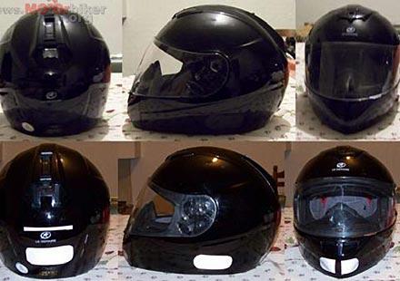 Франция: Малко известен факт – Всички мотоциклетни каски със стикери!