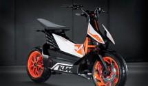KTМ представиха концептуален модел на електрически скутер 02