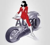 AUDI с концепт за мотоциклет 07