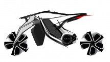 AUDI с концепт за мотоциклет 09