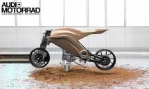 AUDI с концепт за мотоциклет 11