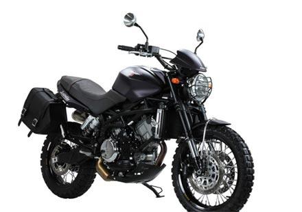 "Премиера на мотоциклета Moto Morini Scrambler ""Purple Rain"""
