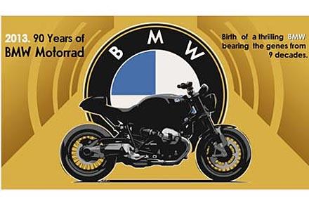 Специално BMW за годишнината – NineT