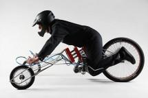 Мотоциклет, задвижван от винтоверти 02