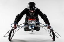 Мотоциклет, задвижван от винтоверти 03