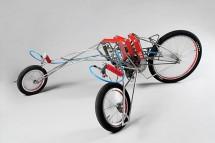 Мотоциклет, задвижван от винтоверти 05