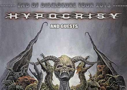 Концерт на Hypocrisy през септември