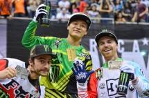 Райдърите на Monster Energy разграбиха медалите в X Games Moto X Freestyle на X Games Los Angeles 03