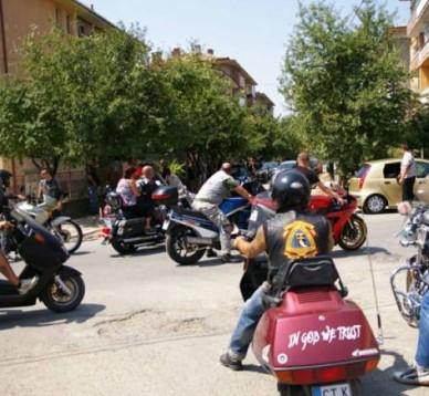 Над 400 мотористи и приятели изпратиха Марин 03