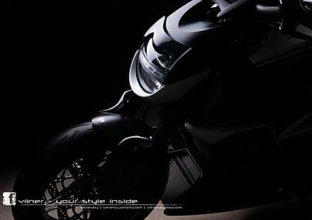 Дяволът на Ducati с тунинг от Vilner
