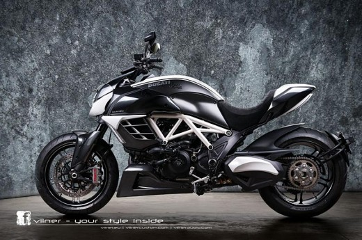 Дяволът на Ducati с тунинг от Vilner 04