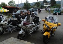 Стотици Honda Gold Wing окупираха София