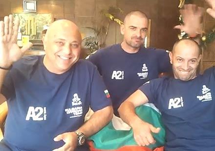 Дакар 2014: Видео поздрав от българския тим